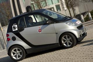 converted cctv smart car