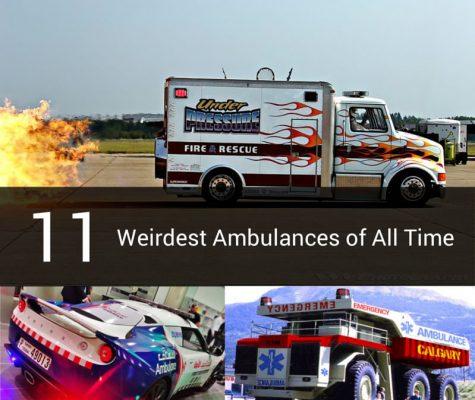 11 weirdest ambulances of all time