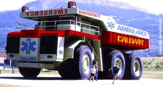 calgary ambulance reinforced