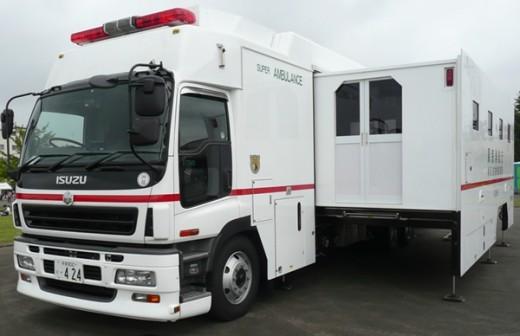 isuzu super ambulance tokyo