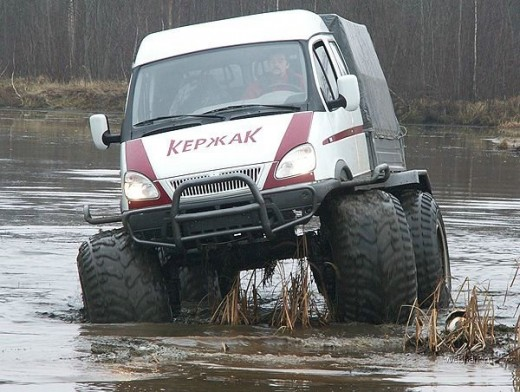 russian monster truck ambulance