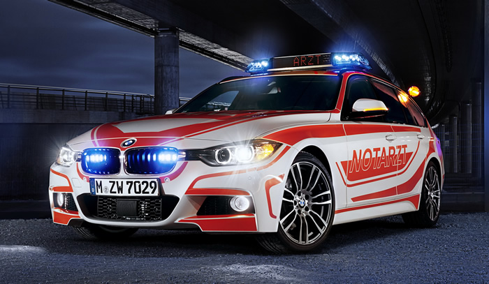 BMW X6 xDrive 50i ambulance