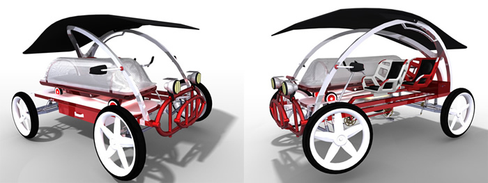 jaambaaro pedal ambulance