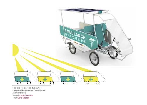 bengali solar powered ambulance concept