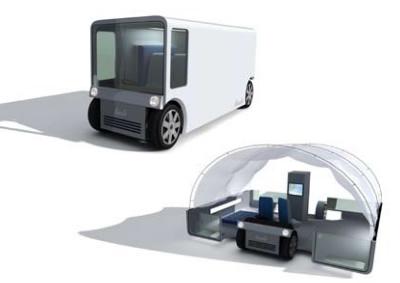 mobile treatment space concept