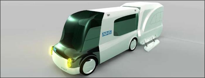 shell ambulance concept