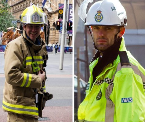 firefighter and paramedic