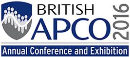 B-APCO Annual Exhibition and Conference 2016 logo