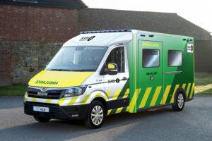 VCS to unveil new MAN-based low floor bariatric ambulance for St John Ambulance