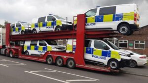 VCS completes 13 Vauxhall Vivaro cell vans for two police forces